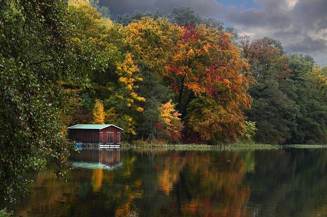 husbåt i Svenska naturen